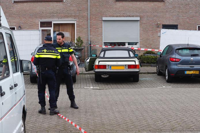 De man werd gevonden in een auto op Den Bult.