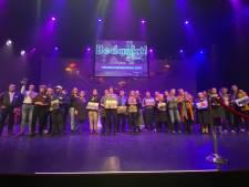 Feest met winnende vrijwilligers in Deventer Schouwburg