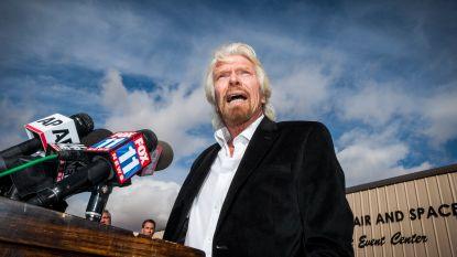 Virgin-baas Richard Branson ondergaat zelf opleiding tot astronaut