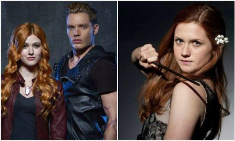'Shadowhunters' werd gebaseerd op personages uit 'Harry Potter', met Ginny Wemel in de hoofdrol.