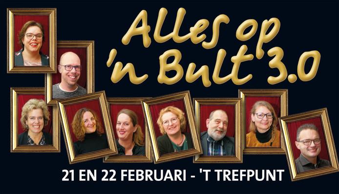 Lekker genieten van een avondje toneel? Dat kan op 21 en 22 februari in kulturhus 't Trefpunt  in Daarlerveen.