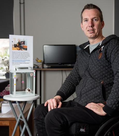 Bij bedrijfsongeval in Wijchen raakte Roy Scholten deels verlamd. Nu hoopt hij op behandeling in Zwitserland