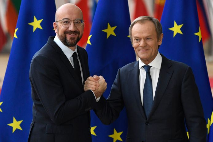 Charles Michel is vanaf vandaag de nieuwe voorzitter van de Europese Raad of de 'president' van Europa.