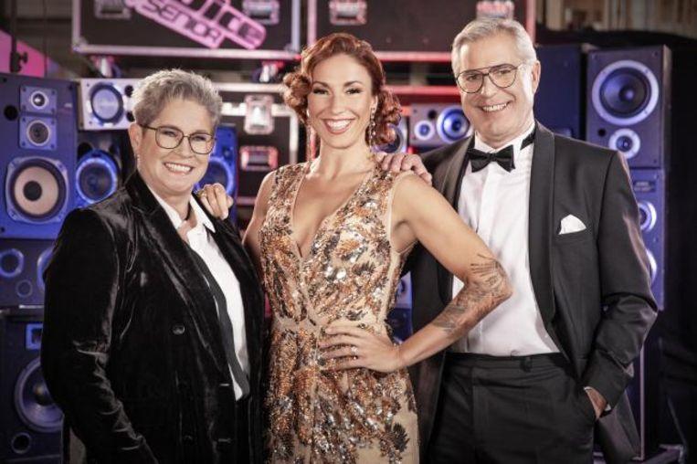 Miet, Natalia en François in The Voice Senior