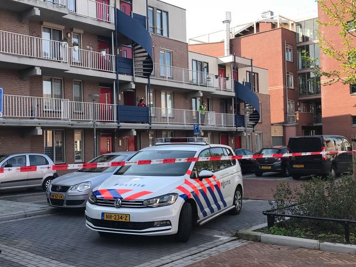 Politie aanwezig om hulp te verlenen in Den Bosch