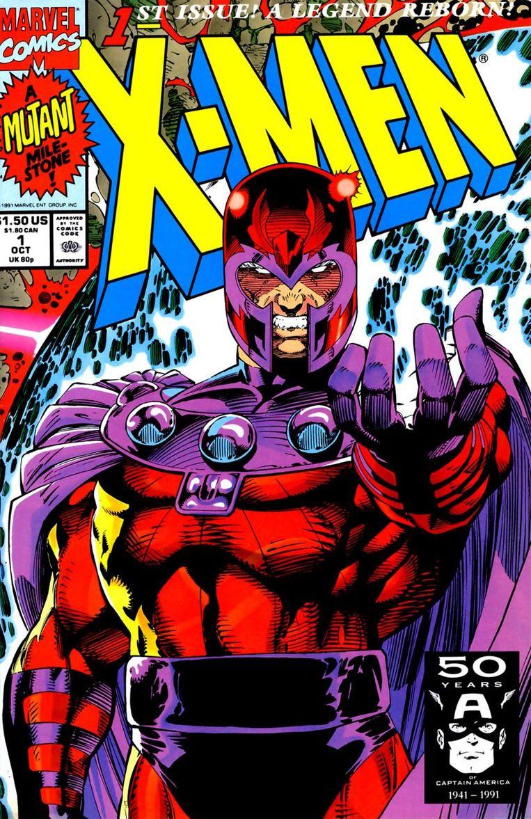 Superheld Magneto Beeld null