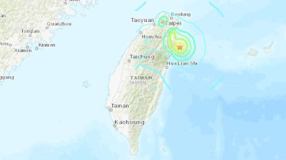 Taiwan getroffen door aardbeving: 1 dode en meer dan 10.000 gezinnen zonder stroom