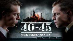"""Spektakel-musical '40-45' opnieuw verlengd: """"Zolang er publiek is, blijven we spelen"""""""