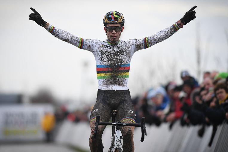Wout Van Aert won vorig jaar in Bredene