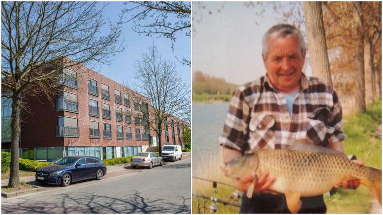 In De Maretak in Halle overleed tien dagen geleden Marcel Petroons (rechts). Zijn grote hobby was vissen.