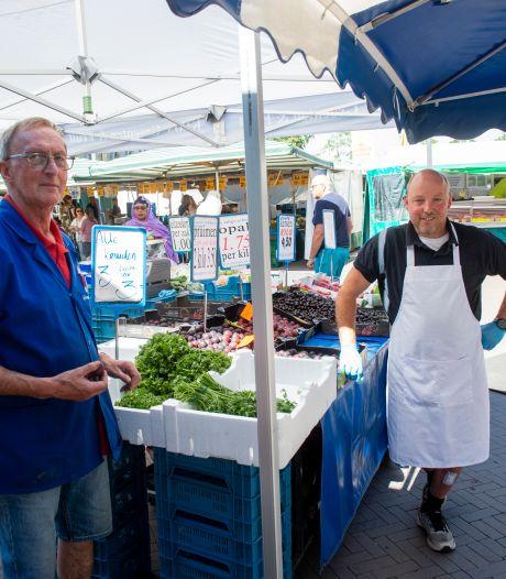 Hittegolf krijgt Apeldoornse marktkooplui niet klein