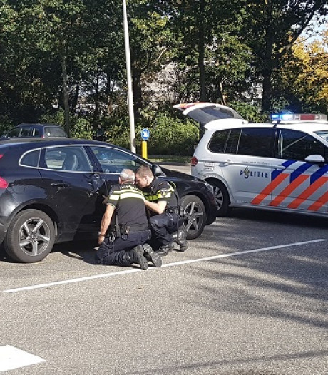 Wielrenner gewond bij aanrijding in Emmeloord