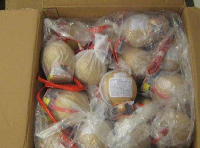 Een doos vol mortierbommen. (Foto ter illustratie)
