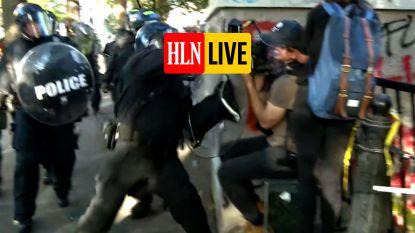 HLN LIVE. Amerikaanse politie deelt klappen uit aan cameraman