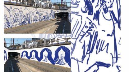 Brusselaars mogen kunst voor metrotunnels kiezen