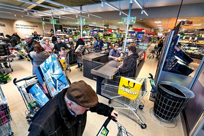 De Lidl supermarkt in Sint-Oedenrode ging woensdagmorgen open.