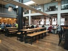 In het Merwe-Vierhavensgebied komt de grootste brouwerij van Rotterdam; de Bierfabriek