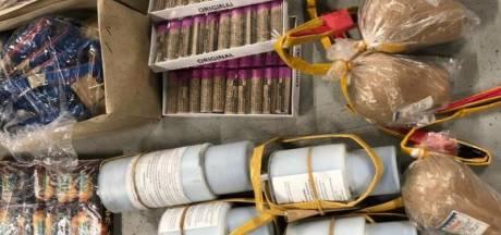 'Mortierbommen' gevonden in huis Heeswijk-Dinther: 'Zwaarste soort illegaal vuurwerk dat er is'