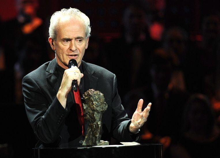 Nick Davies kreeg in 2012 de Duitse Henri Nannen Price onderscheiding in de categorie persvrijheid. Beeld anp