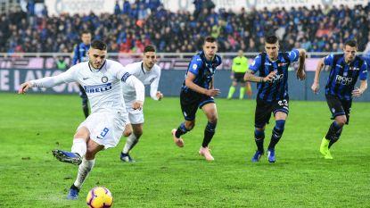 Inter gaat met de billen bloot bij Atalanta met Castagne, Nainggolan blijft op de bank