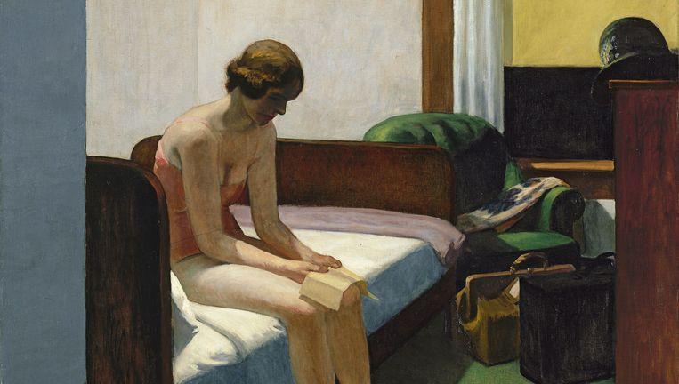 Edward Hopper, Hotel Room (1931). Beeld Museo Thyssen-Bornemisza, Madrid