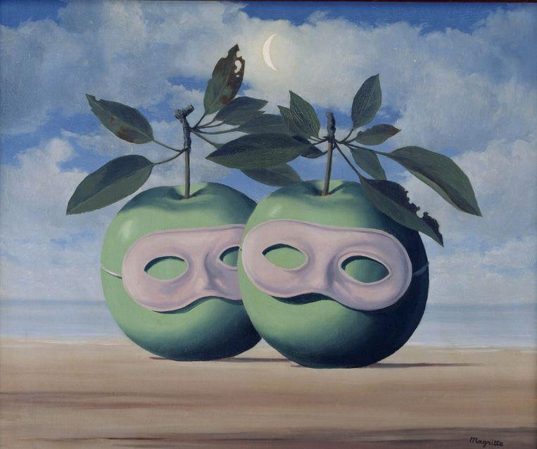 La pretre marie, Rene Magritte 1961 Beeld anp
