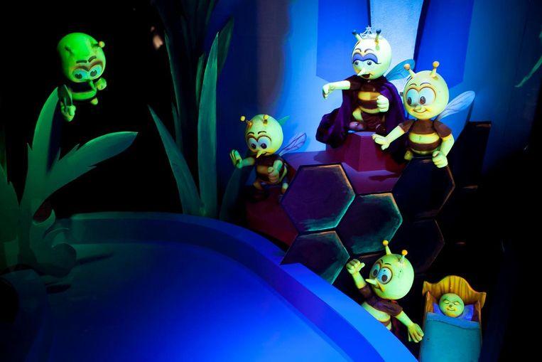 De zoemende bijtjes van de attractie Apirama zullen ook weer te zien zijn.