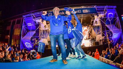 VIDEO. Uitgelaten Genks Stadsplein danst de nacht in