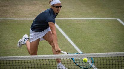 Flipkens laat zich de kaas van het brood eten in Rosmalen: geen tweede WTA-titel na hoopvolle start - Federer viert in Stuttgart