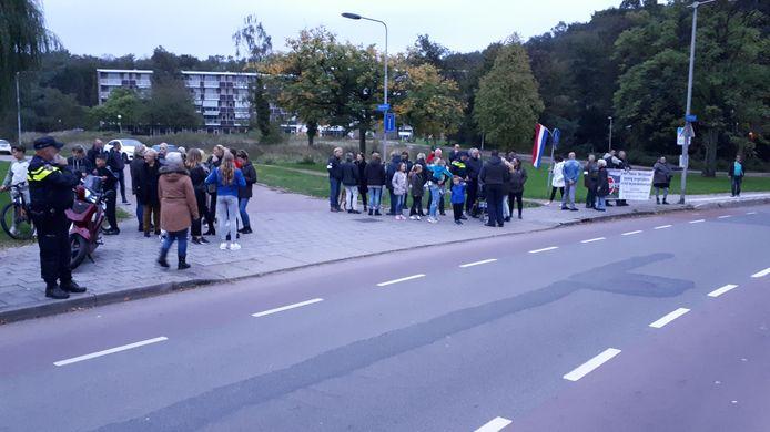 Demonstratie Paasbergflat.