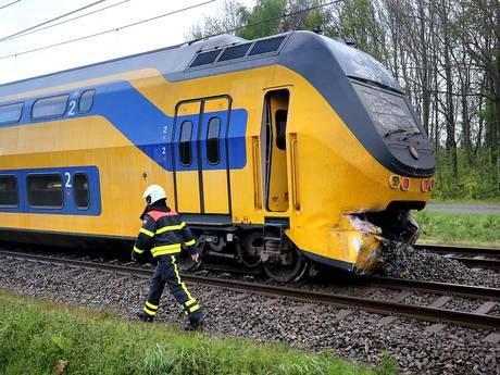 Treinbotsing Wouw: spoor na twee dagen bijna hersteld