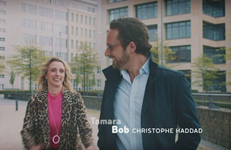 Bob en Tamara in 'Thuis'.