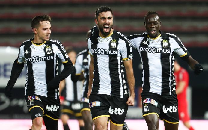 Plus insistant dans le dernier quart d'heure, Charleroi a fini par trouver l'ouverture par Rezaei qui inscrivait là son 3e but en trois rencontres.