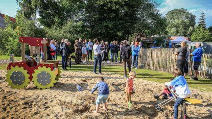 """Walle opent buurttuin met speelzone en moestuinbakken: """"Opwaardering van de wijk"""""""
