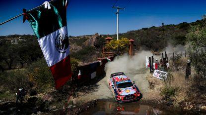 Leider Mikkelsen moet opgeven in vijfde chronorit, Neuville achtste in Rally van Mexico