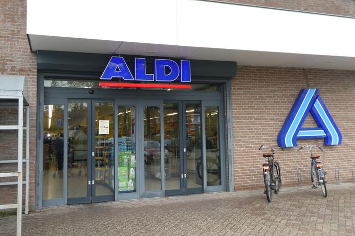 De Aldi aan de Kapelweg in Boxtel blijft geopend en dat botst met het beleid van de gemeente.