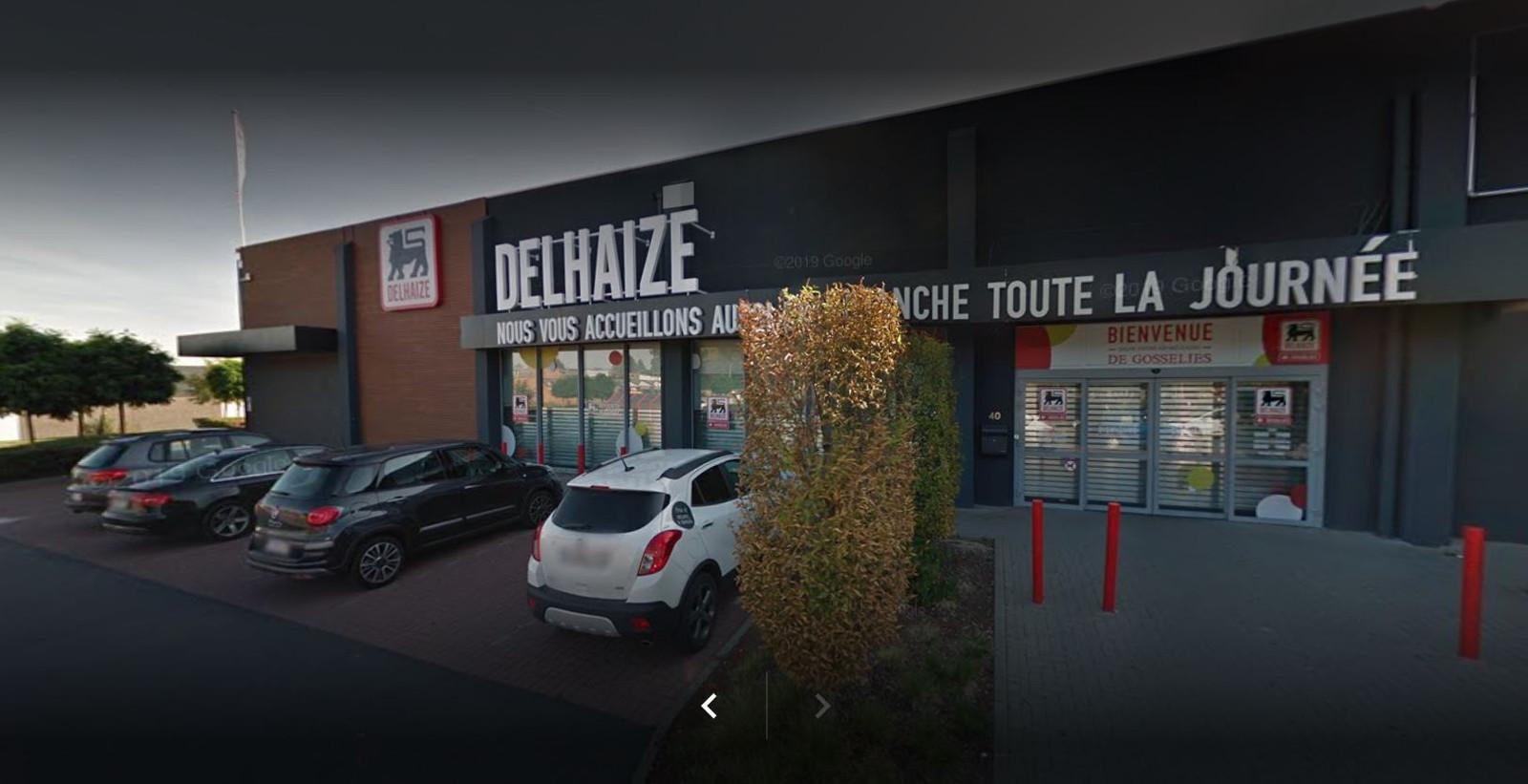 AD Delhaize à Gosselies