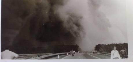 Brandweerman Hemmy (78) stond vooraan bij Inferno van 't Harde: 'Het gas van naaldhout is héél gevaarlijk'