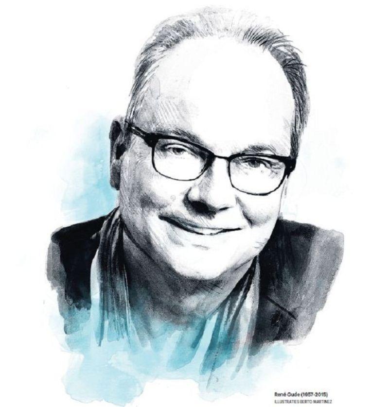 René Gude (1957-2015) Beeld Berto Martinez