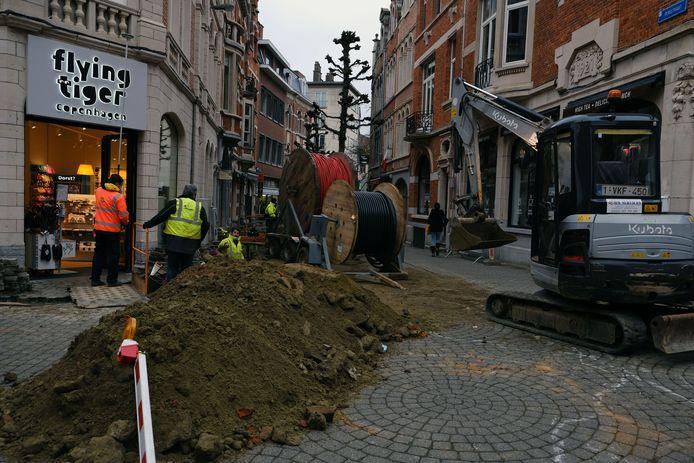 Brusselsestraat en Pensstraat krijgen nieuwe elektriciteits- en waterleidingen
