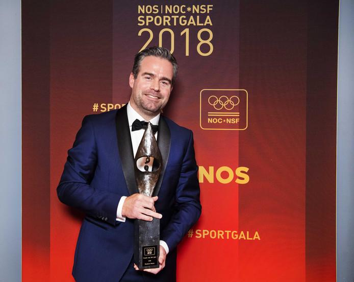 Raemon Sluiter werd eind vorig jaar al Coach van het jaar tijdens het NOC*NSF Sportgala. Hij is nu ook sportcoach van jet jaar in Rotterdam.