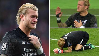"""Van """"die eerste blunder was het beste wat Liverpool kon overkomen"""" tot """"dit wens je zelfs je grootste vijand niet toe"""": de vele reacties op de nachtmerrie van Loris Karius"""