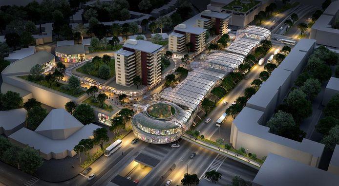 De Holland Outlet Mall zoals die is gepland in Zoetermeer.