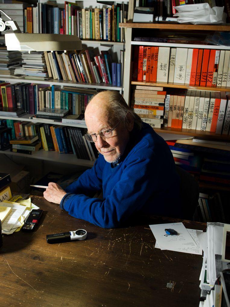 Eddy Posthuma de Boer in zijn studio in Amsterdam. Beeld Eva Roefs