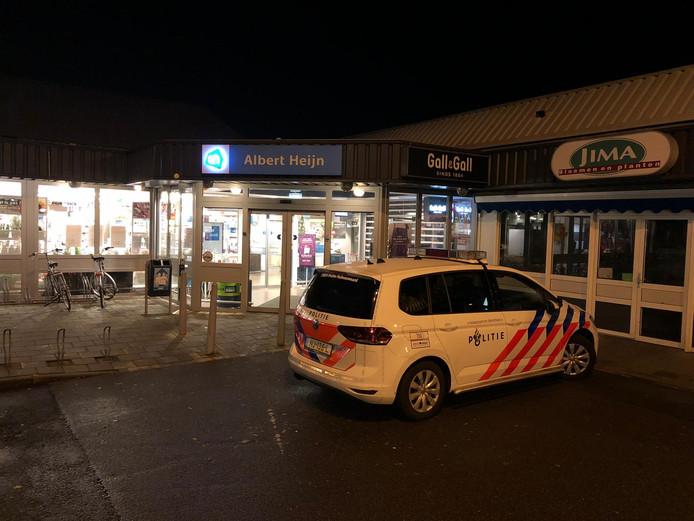 De Geldropse AH wilde een decemberavond vorig jaar al eerder sluiten vanwege een verdachte klant, maar deze sloeg  toch nog toe.