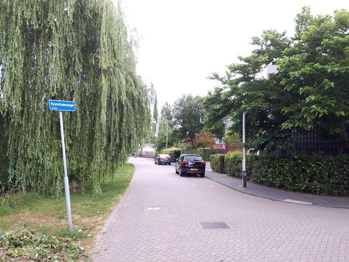 De Vuurvlindersingel in Leidsche Rijn.