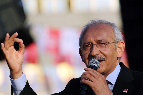 Kemal Kilicdaroglu, de man die de beschuldiging van gouden toiletten de wereld in heeft geslingerd.