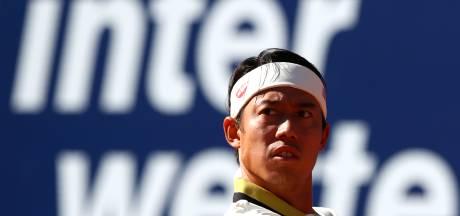 Nishikori verliest bij rentree na jaar afwezigheid