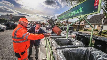 Recyclagepark komt naar je toe