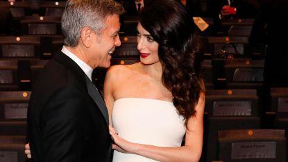 """Amal Clooney open over relatie met George: """"Ik zag het stichten van een gezin nog niet echt zitten, maar over het vinden van geluk heb je geen controle"""""""